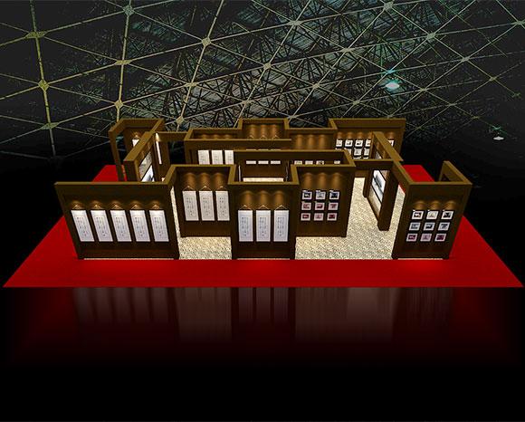 书画展厅设计公司